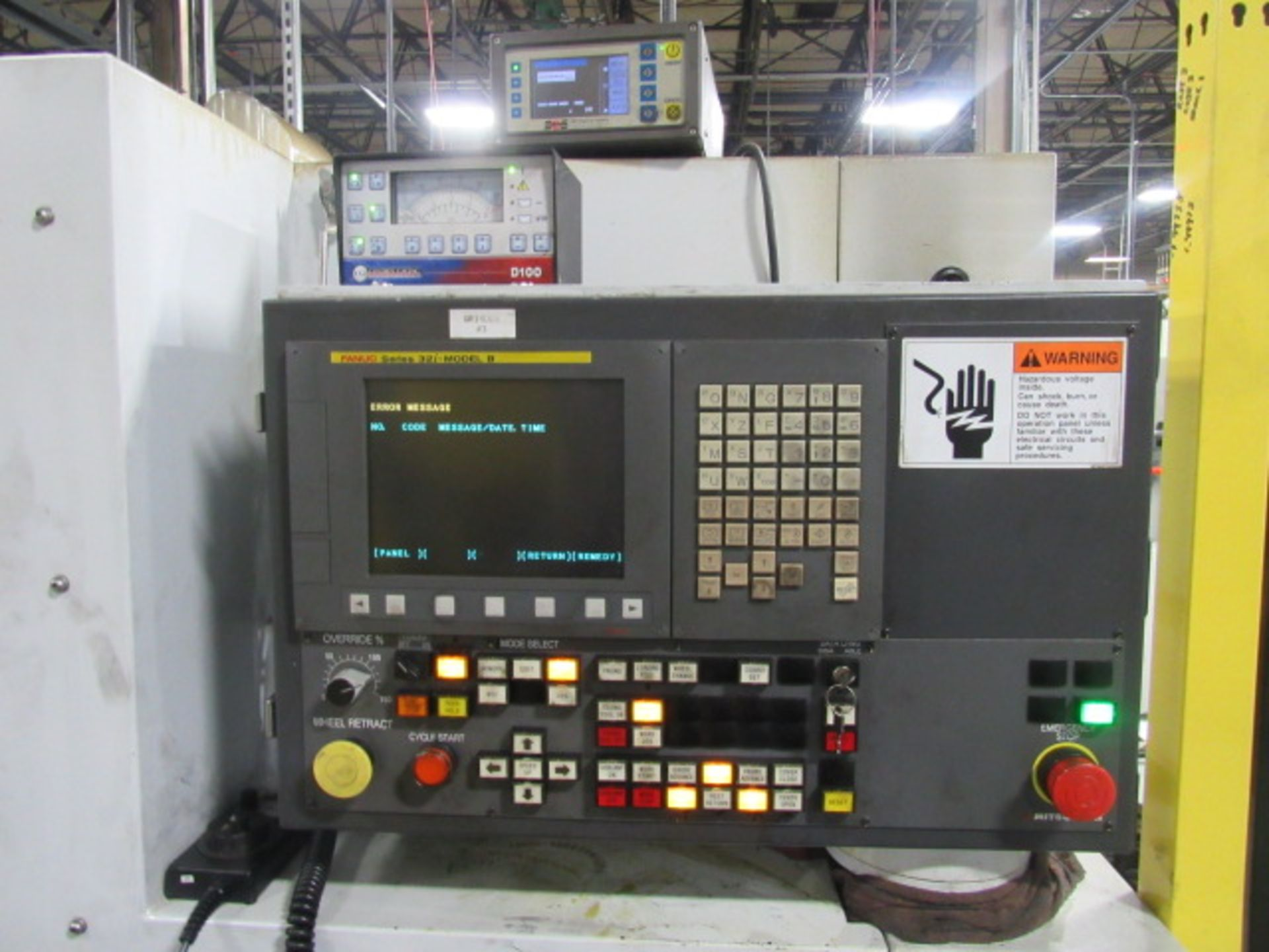 MITSUBISHI PD32-50P CNC STRAIGHT CYLINDRICAL GRINDER, NEW 2013, Fanuc Series 32i-B CNC Control, Rotary Dresser, SBS Auto Wheel Balancing, Lateral Locating (Shoulder Gauge)