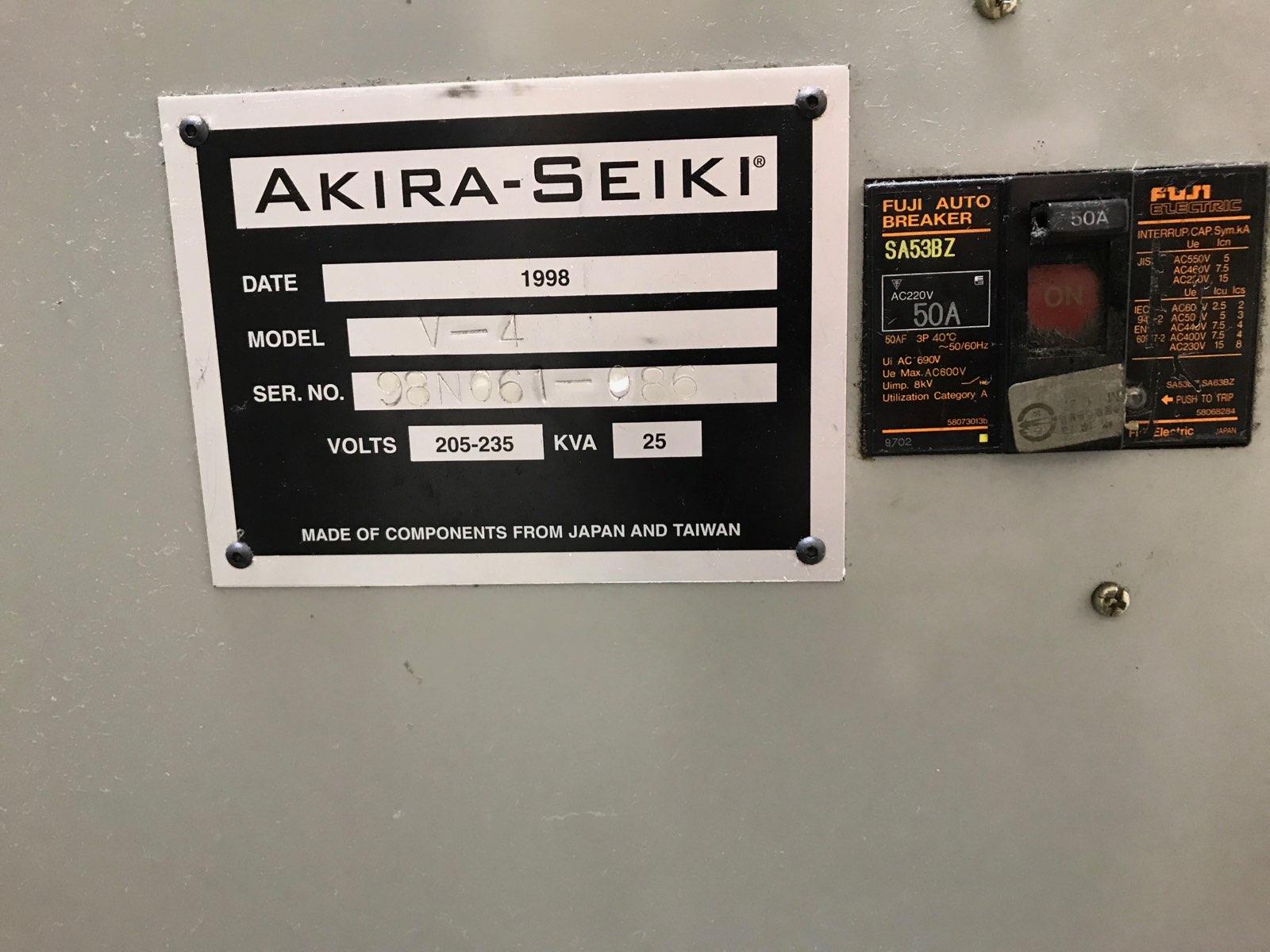 AKIRA SEIKI  Performa V-4, 40x20x20 cat 40