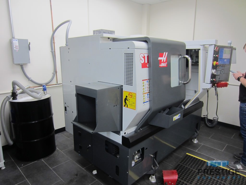 "Haas ST 10Y , 12"" Cutting Dia., 6,000 RPM, Live Tooling, C-Axis, Tool Presetter, Parts Catcher, 2014, #30866"