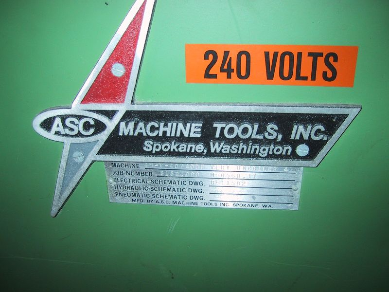 ASC Pallet Decoiler/feeder - $1700 as is in Tampa, FL - We can load your flatbed or large box truck.