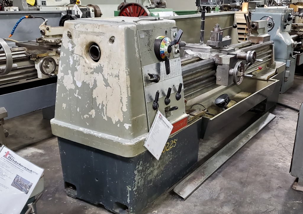 """17"""" x 80"""" Clausing Colchester Engine Lathe"""