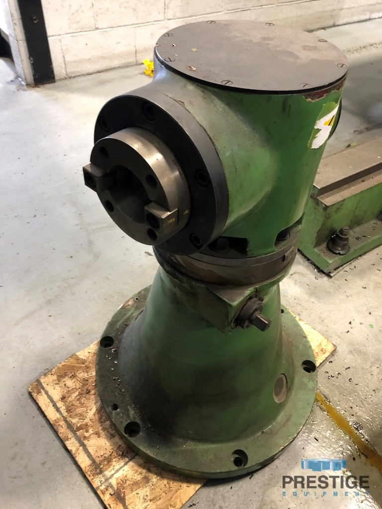 """4"""" Titan AFD 105-H, X-78.74"""", Y-78.74"""", 55"""" x 63"""" Rotary Table, Pendant, 3-Axis D.R.O., Right Angle Hd., 1997, #30820"""