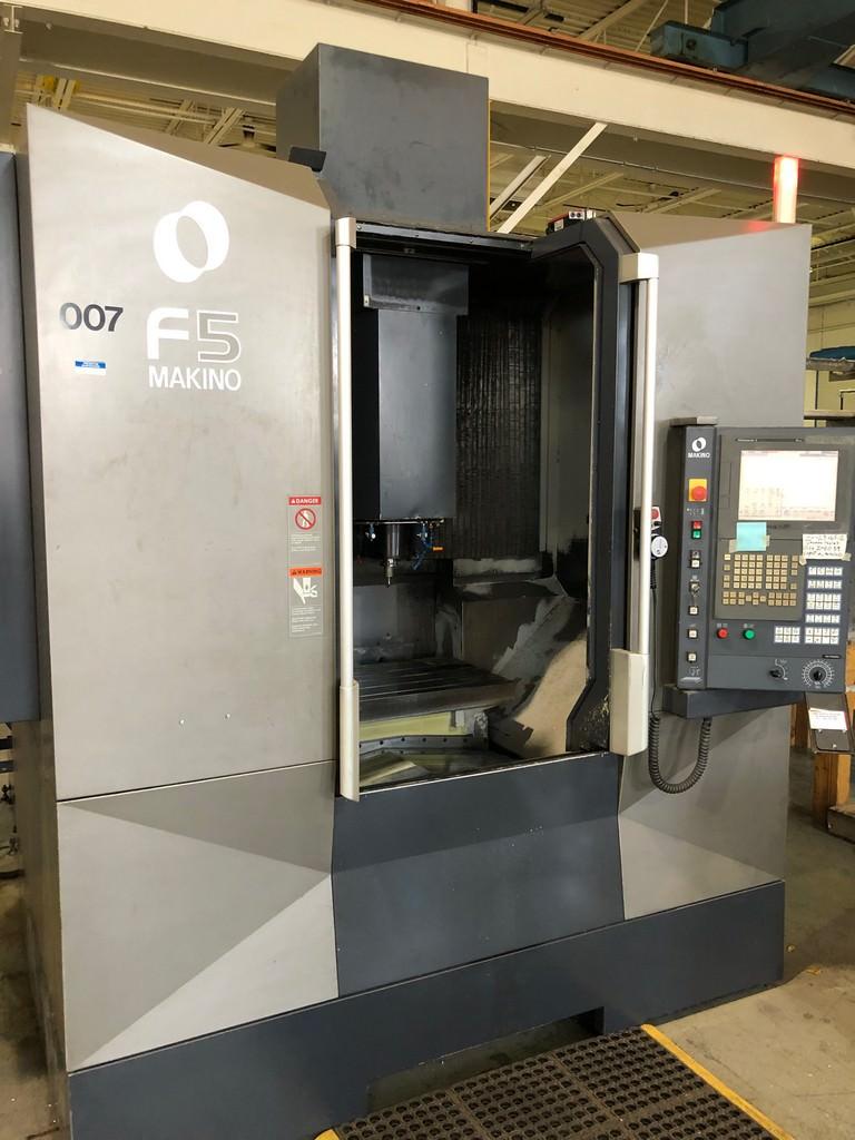 "Makino F5 High Speed VMC, X-35.4"", 20,000 RPM, Pro 5 CNC, 30 ATC, 2011, #30390"