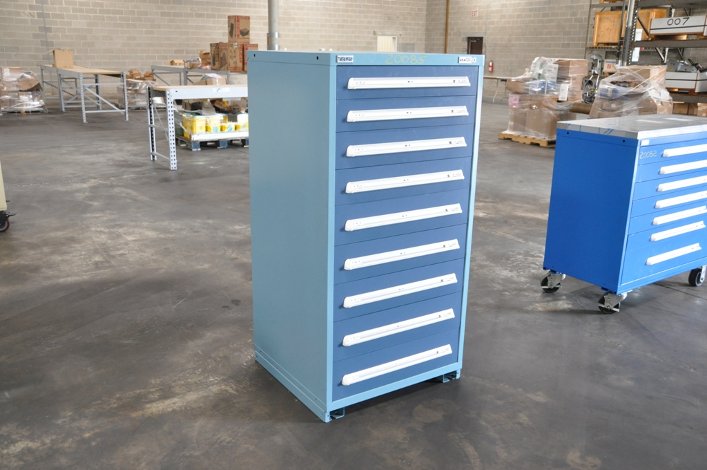 9 Drawer Vidmar Cabinet
