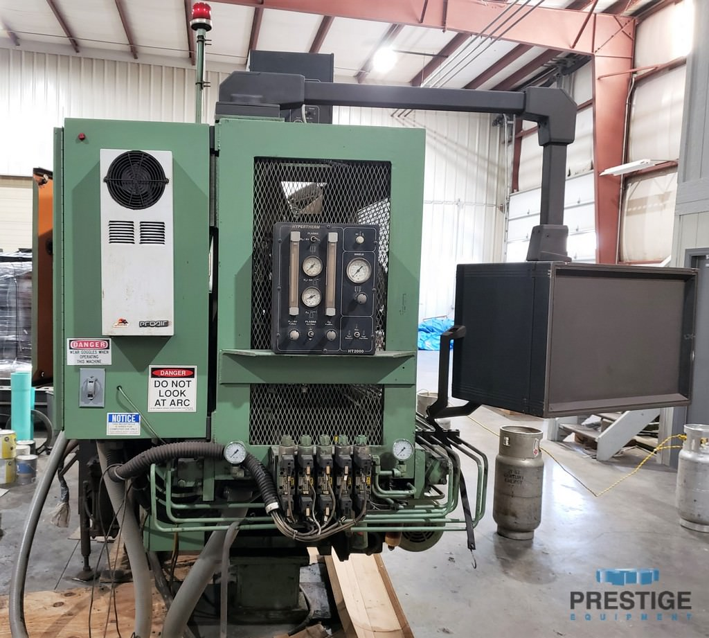 Peddinghaus FPB 1500/3D CNC Plate Punch With 200 AMP Plasma Cutting Torch