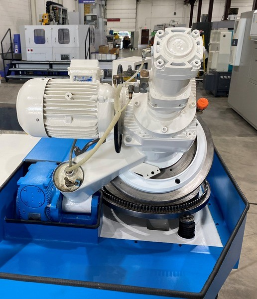 """20"""" Peter Wolters AC-500, Double Sided, 3-Motor, Vari-Freq Drive, Probe, Slurry, '94 (47091)"""