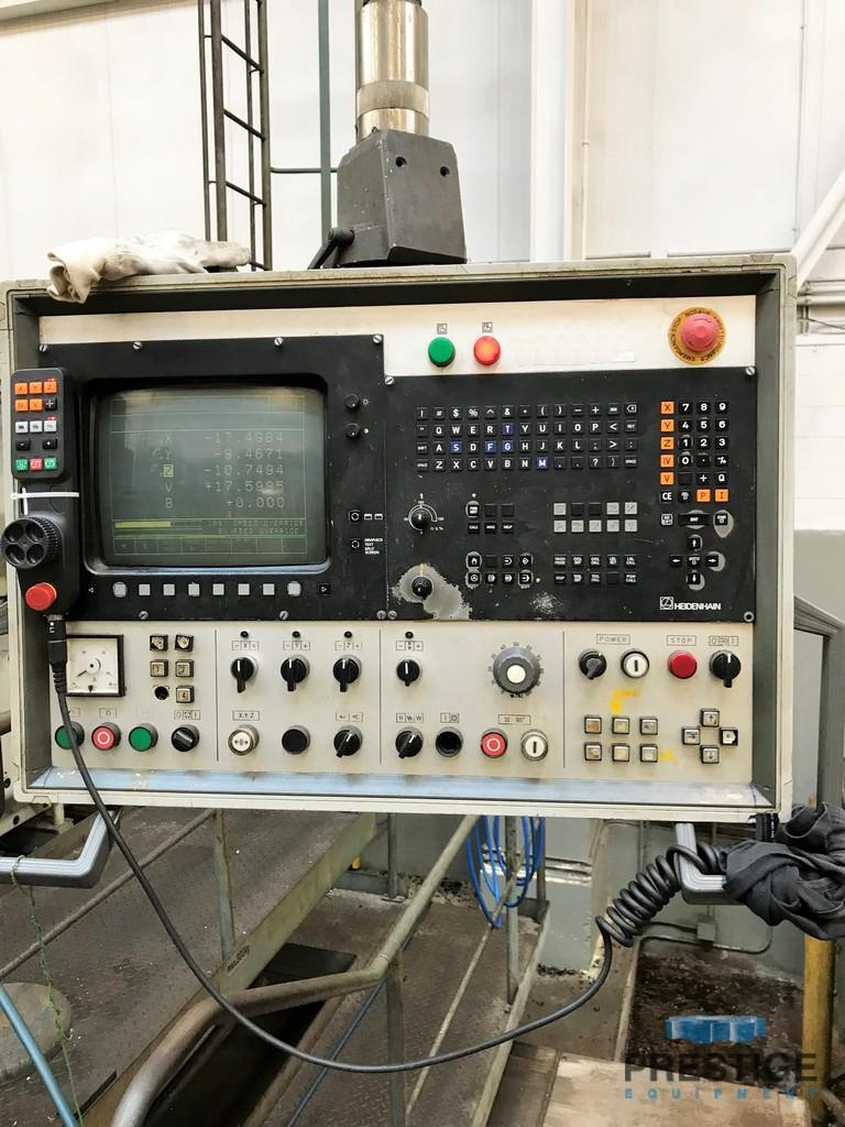 "7.87"" Skoda W200 NC, Ram Type, X-236.22"", Y-118.11"" 100 Ton Rotary Table, Heidenhain 426, Retro '96 #31050"