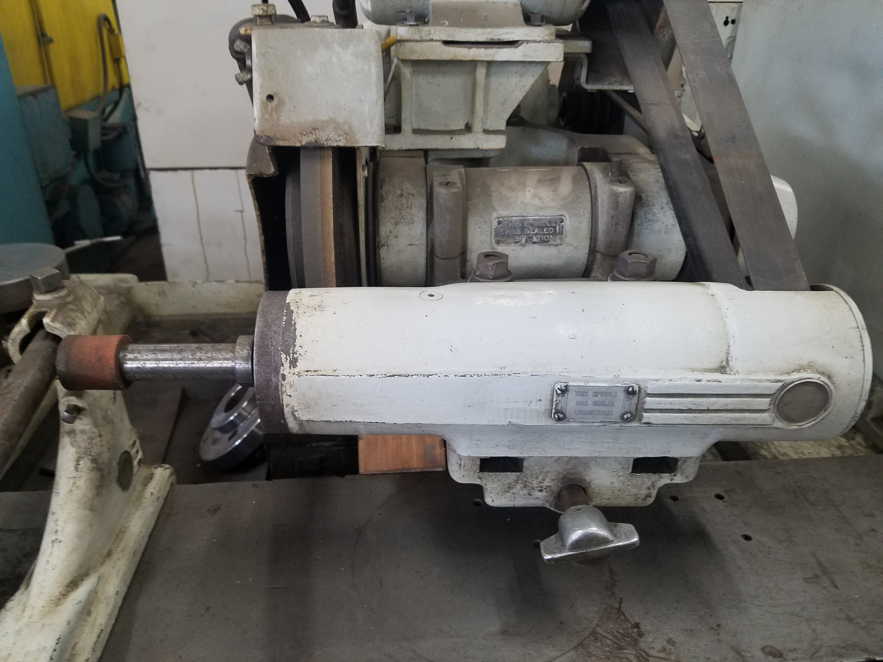 """12"""" x 30"""" Universal Cylindrical Brown & Sharpe ID/OD Grinding Machine.8"""" Chuck and Internal Swing Down Attachment"""