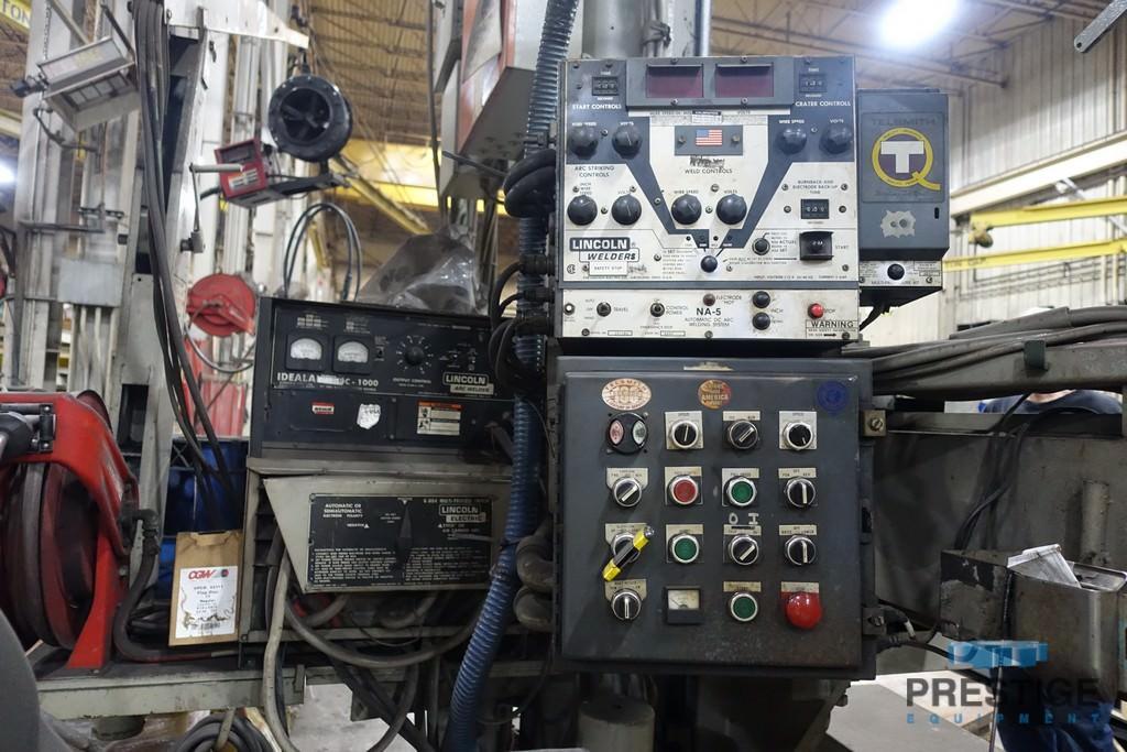 Ransome 12' x 12' Submerged Arc Welding Manipulator, Lincoln DC-1000 Welder, #31215