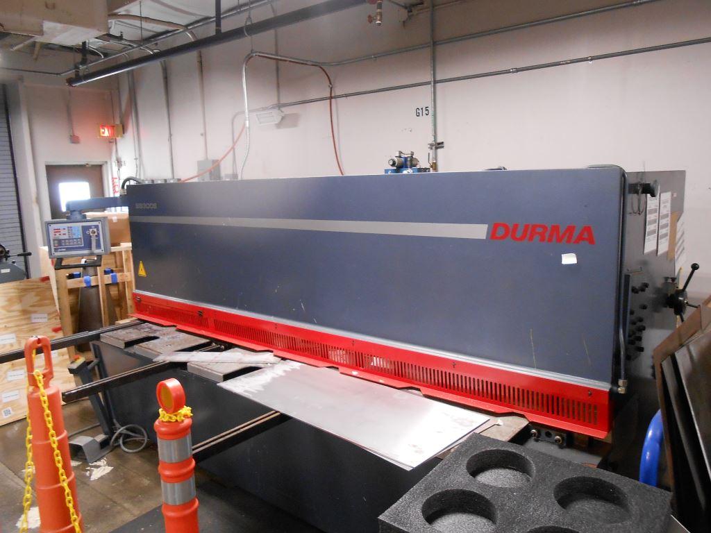 """2006 Durma 10' x 1/4"""" CNC Hydraulic Shear"""