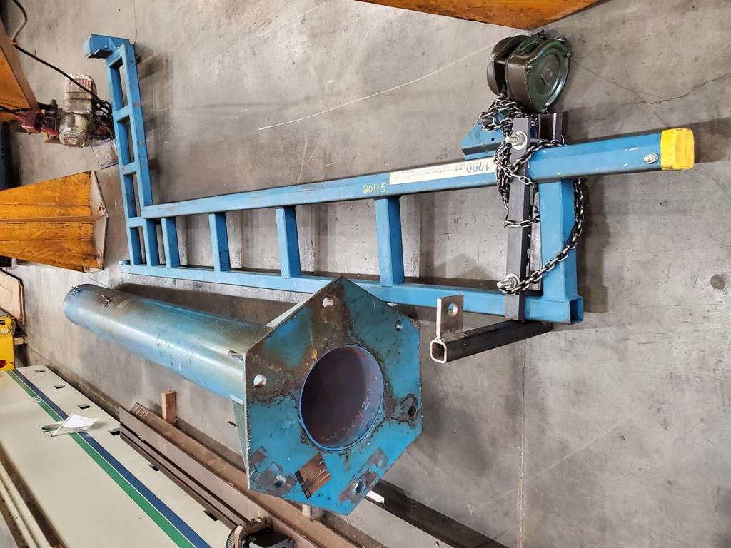 Gorbel Freestanding Jib Crane, 1000 Lb. Capacity