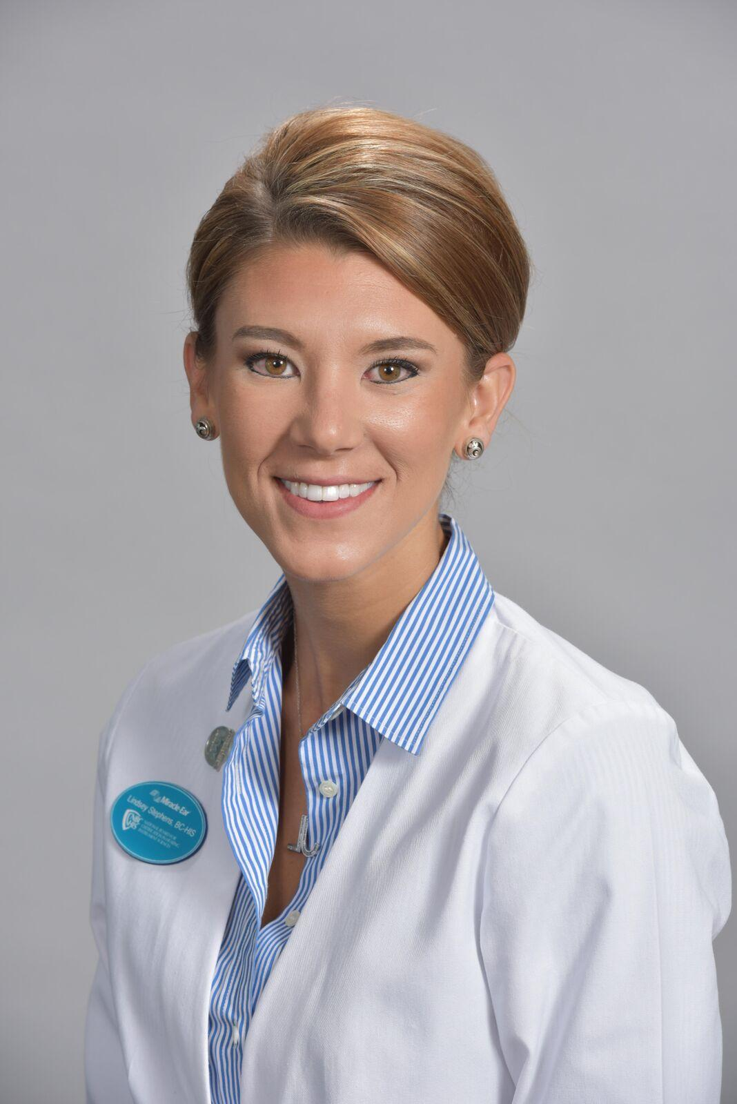Profile Photo of Lindsey - Board Certified in Hearing Instrument Sciences