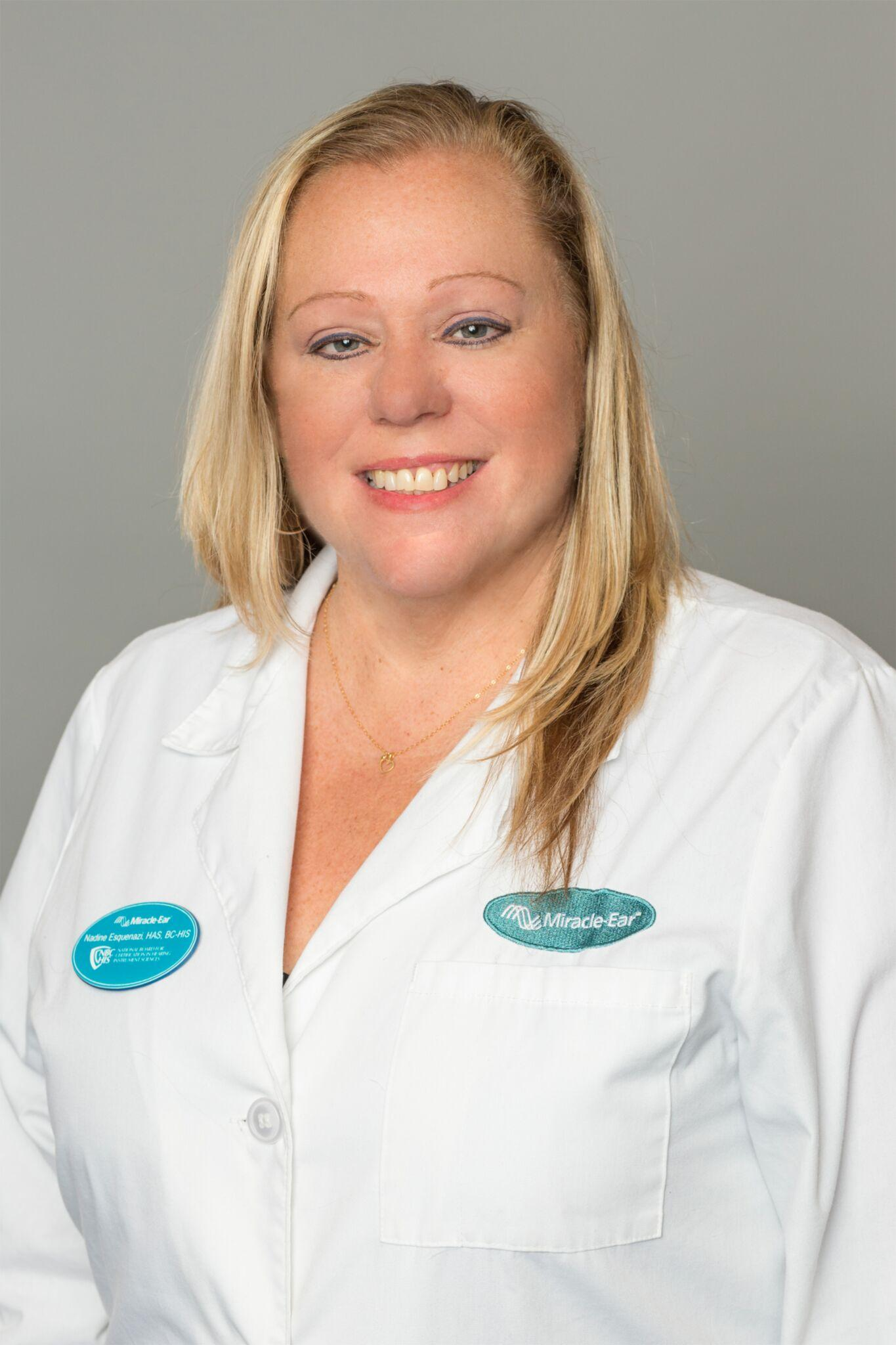Profile Photo of Nadine - Board Certified in Hearing Instrument Sciences