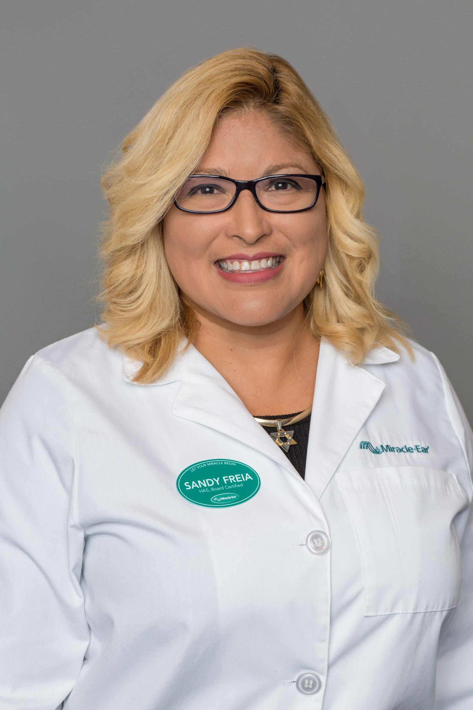 Profile Photo of Sandy - Board Certified in Hearing Instrument Sciences