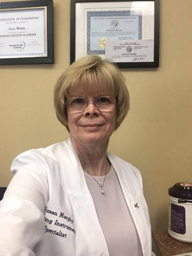 Profile Photo of Susan  - Hearing Instrument Specialist