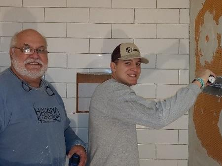 Profile Photo of Lenny & Alan M  Tile Installers