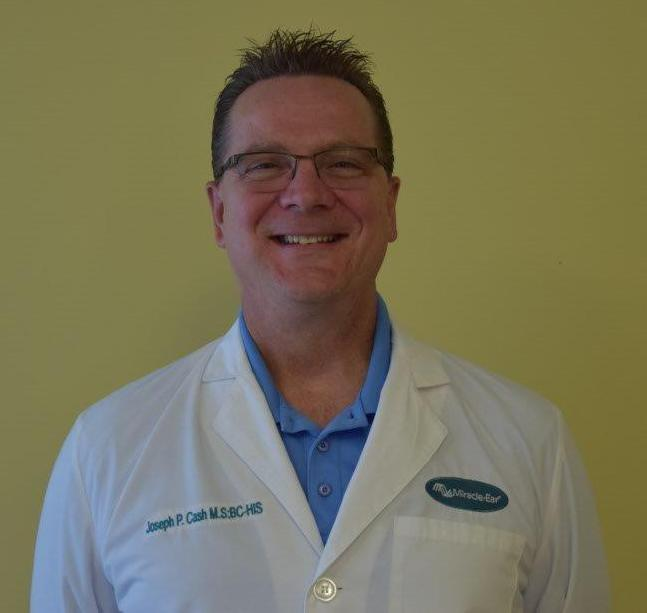 Profile Photo of Joseph P. Cash - Board Certified Hearing Instrument Specialist