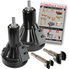 "Commercial Series Tenon Cutter Starter Kit 1"" & 2"""