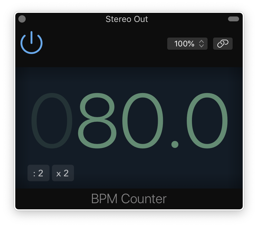 Find the BPM of any song easily - Logic Pro X Metering Tools