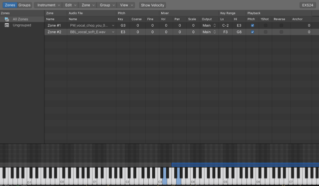 How to use EXS24 - the Sampler for Logic Pro X - Logic Fiends