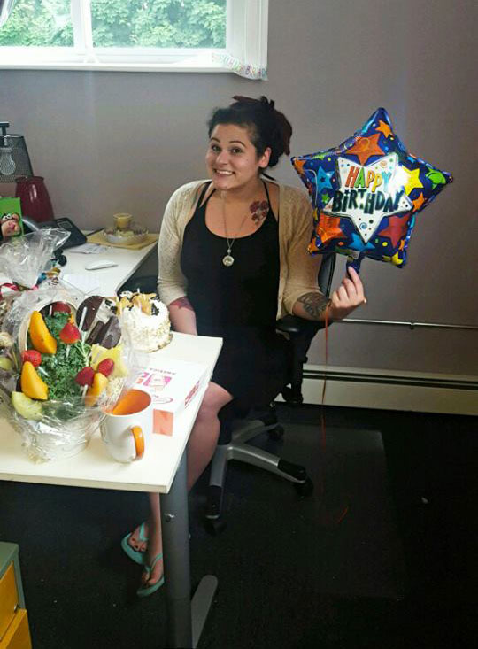 AnnMarie Minichiello on her Birthday at Logic Web Media