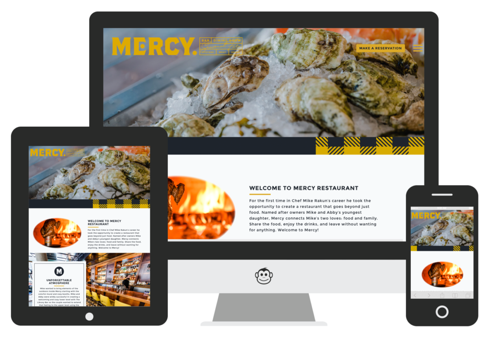 Logic Web Media project - Mercy Restaurant