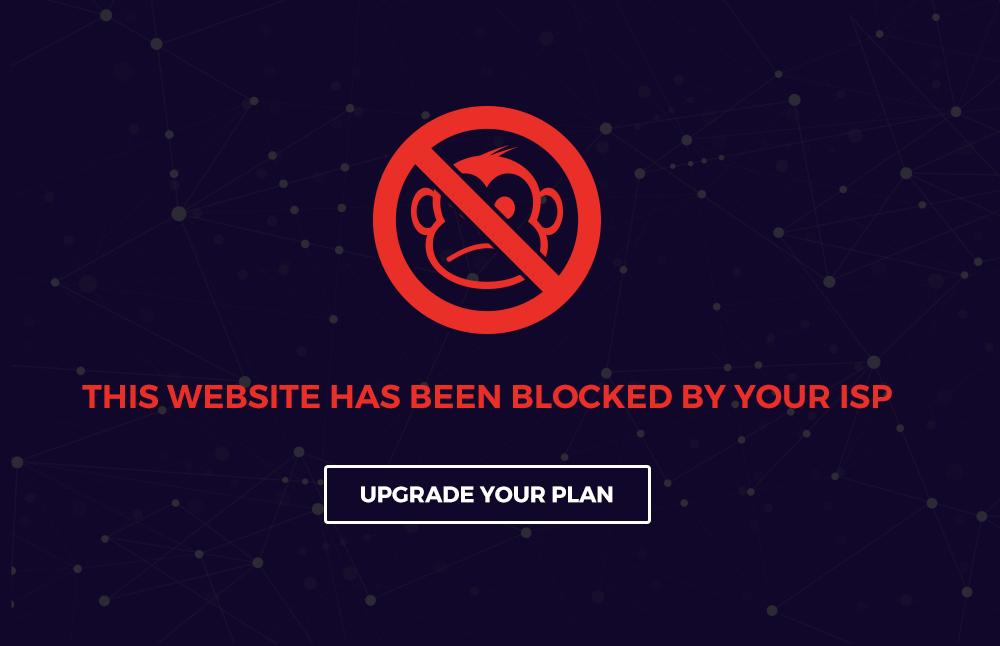 Website Blocked by ISP through Net Neutrality