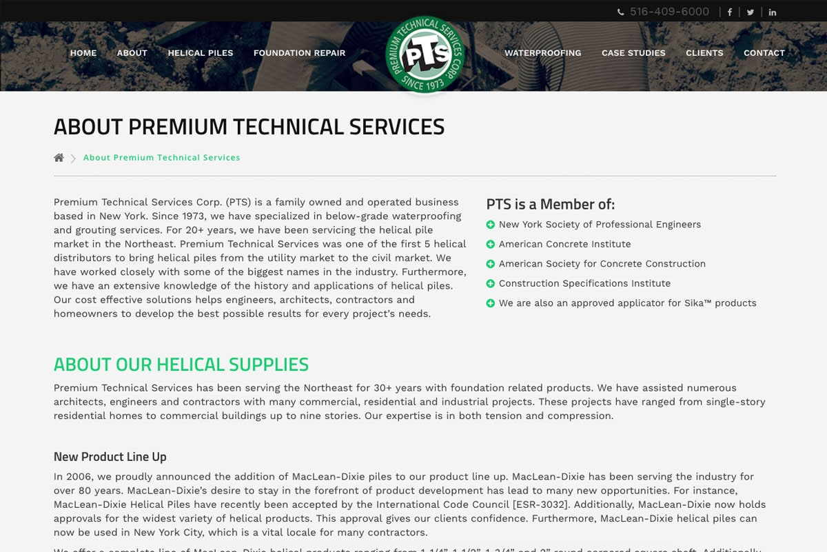 Premium Technical Services Corp.