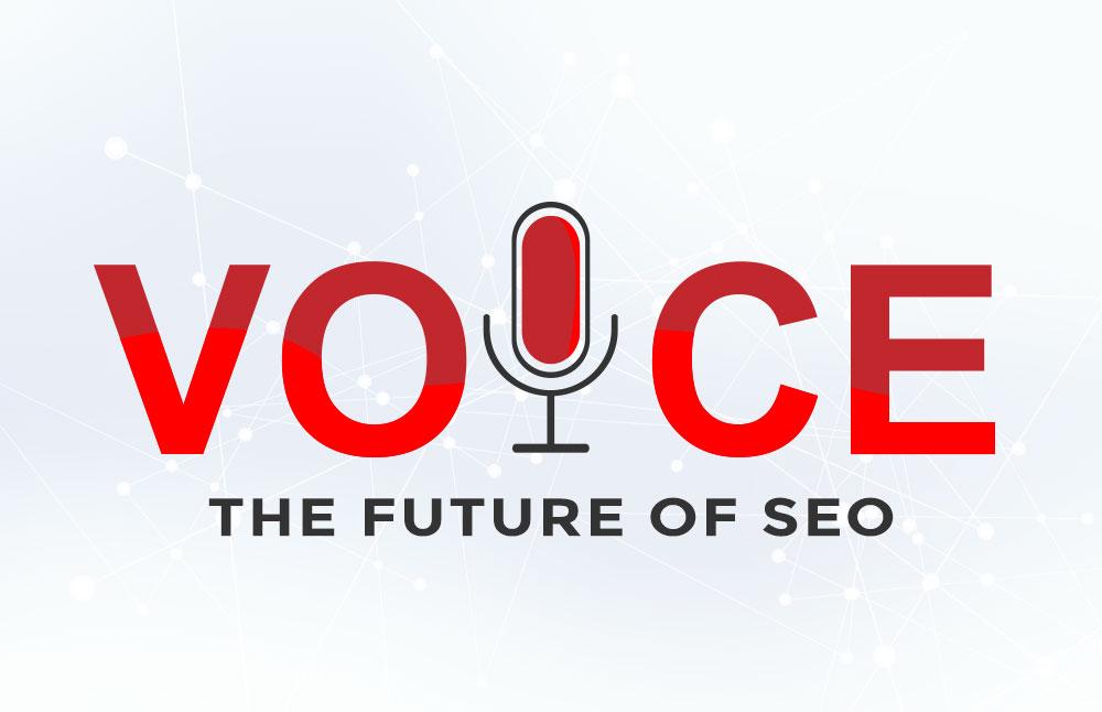 Voice- The future of SEO Graphic