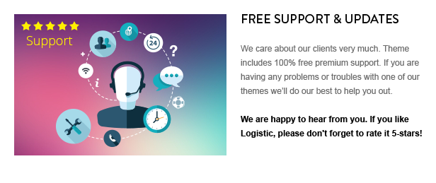 \ Logistic – WP Theme For Transportation Business Nulled Free Download 13