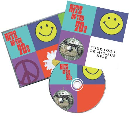 CD Hits of the 70's Traditional Package Image