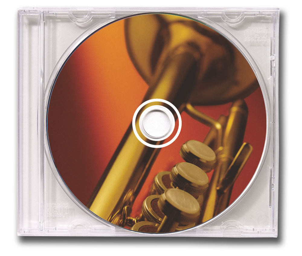 CD Big Band Music Clear Jewel Case Image