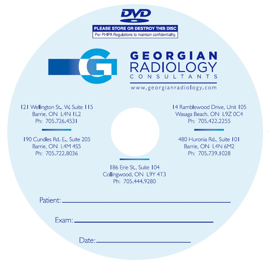 DVD Blank DVD-R for the Medical Industry Image