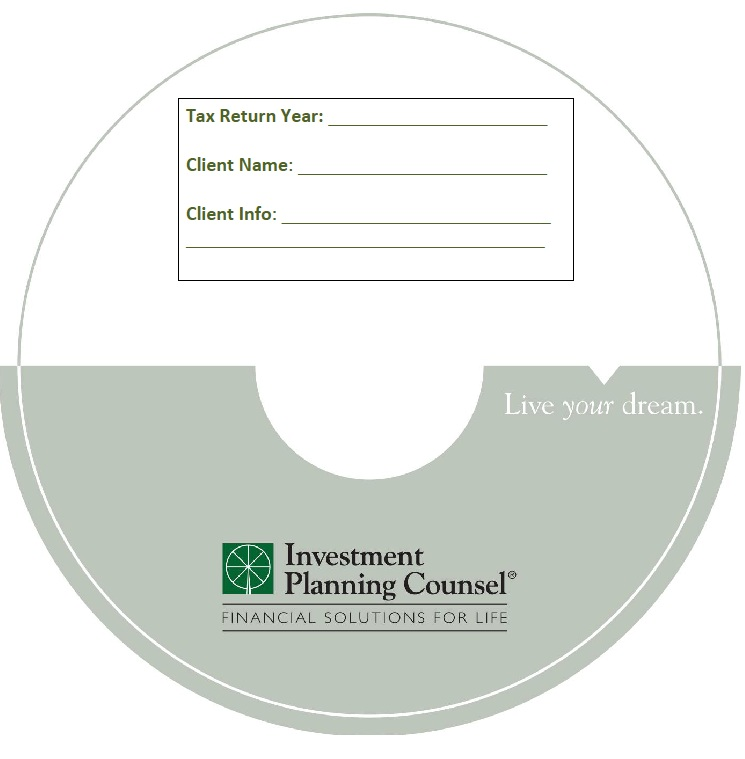 DVD Blank DVD-R for the Tax Industry Image