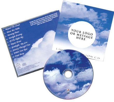CD Tranquilityl Music Traditional Package Image