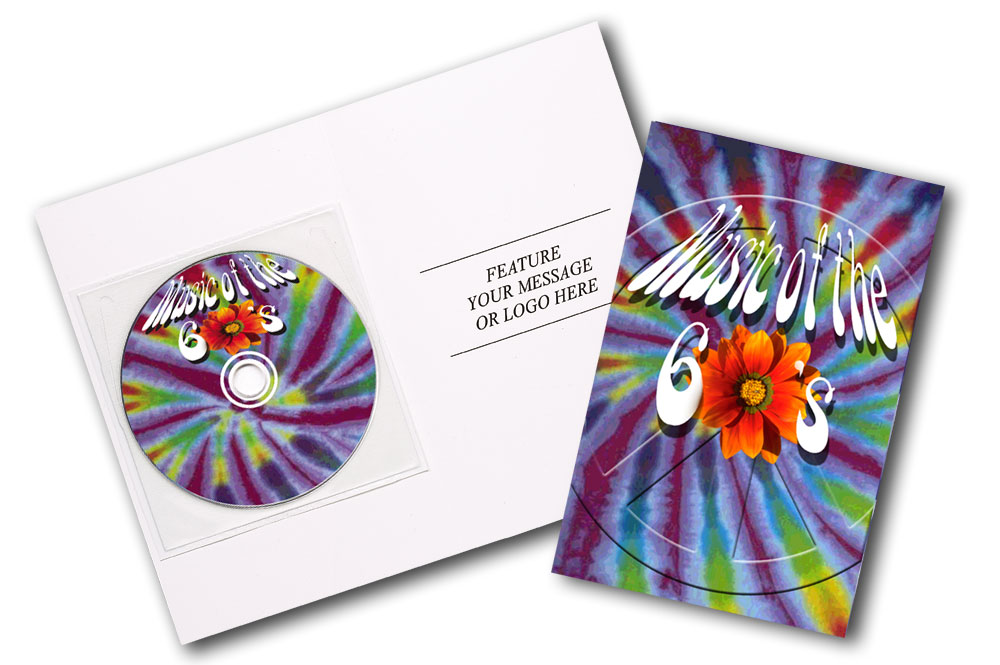 CD Hits ofthe 60's Greeting Card Image