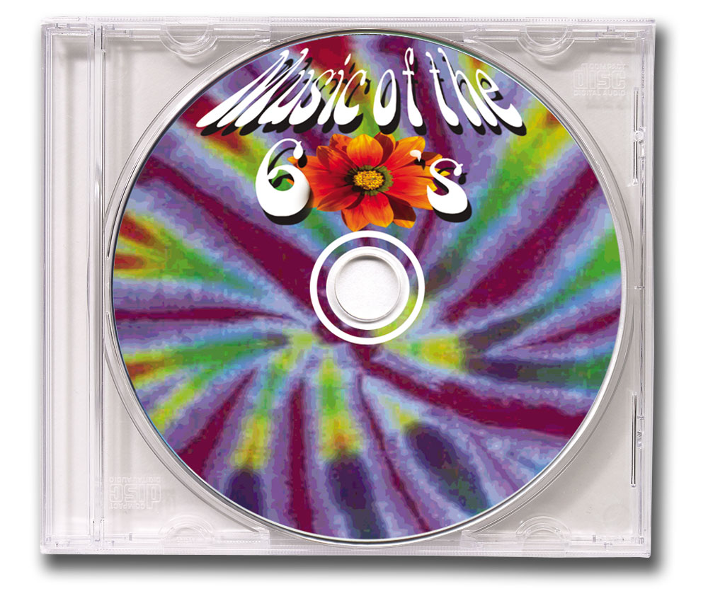 CD Hits of the 60's Clear Jewel Case Image