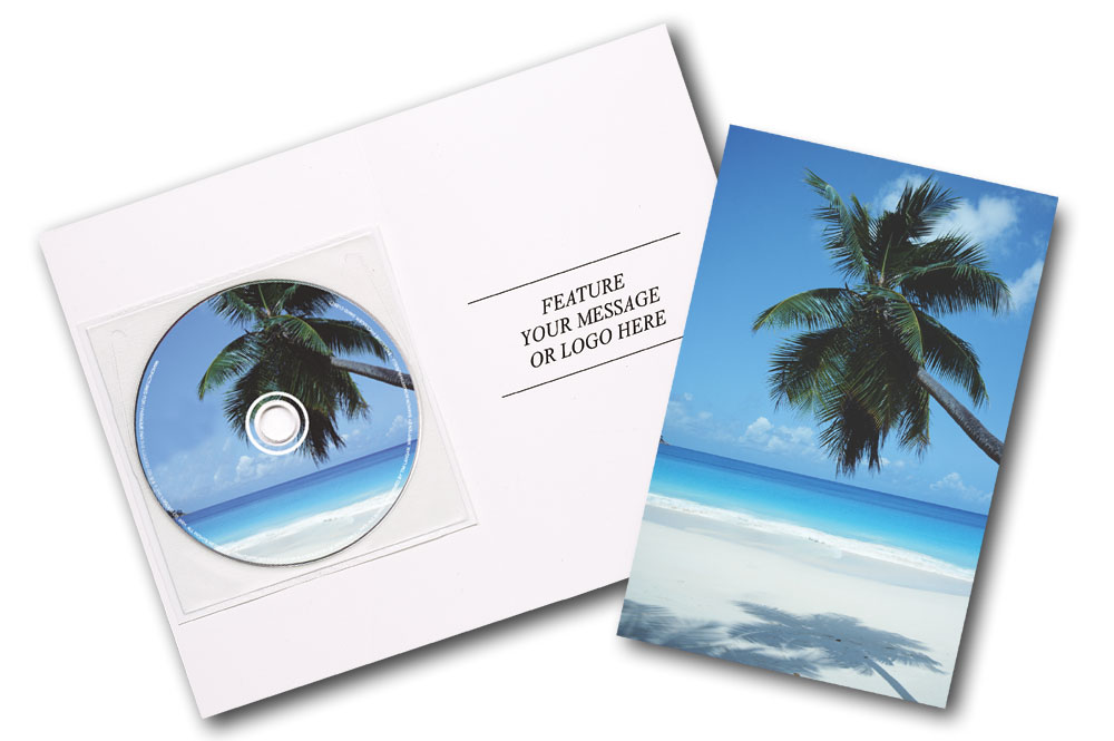 CD Hits of the Summer Greeting Card Image