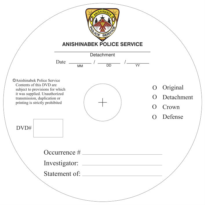 DVD with DATA Image