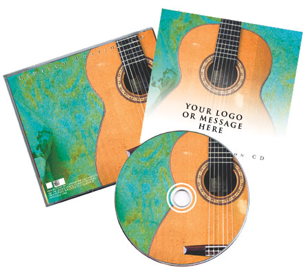 CD Spanish Guitar MusicTraditional Package Image