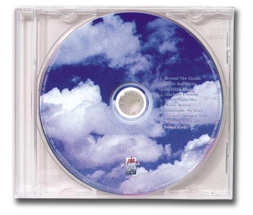 CD Relaxation/Spa Music Clear Jewel Case Image