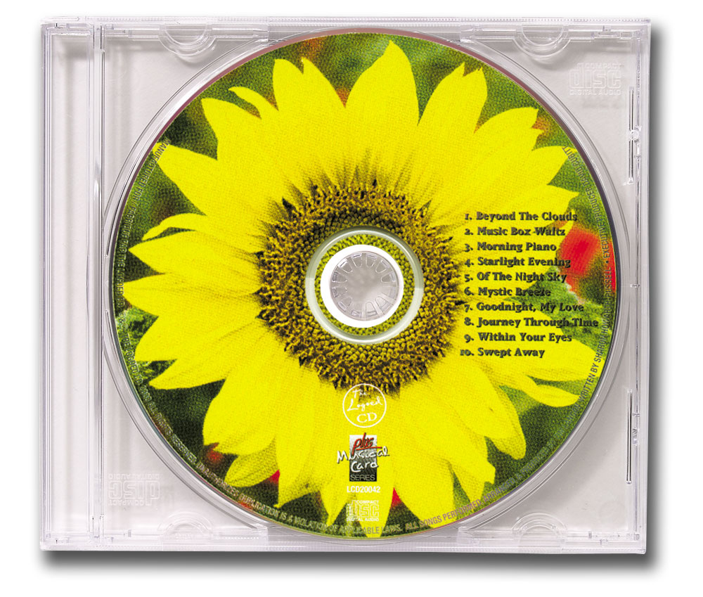 CD Tranquility Music Clear Jewel Case Image