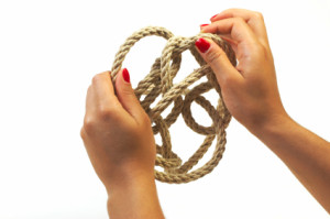 untangle knot and achieve work-life balance