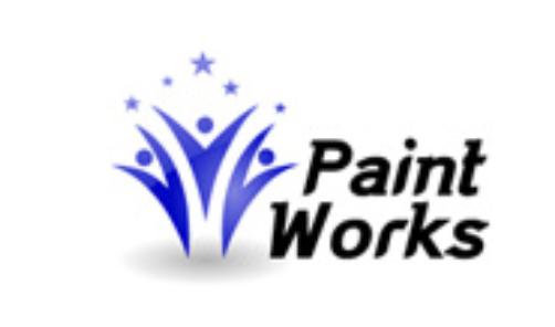 Paint Works logo maker