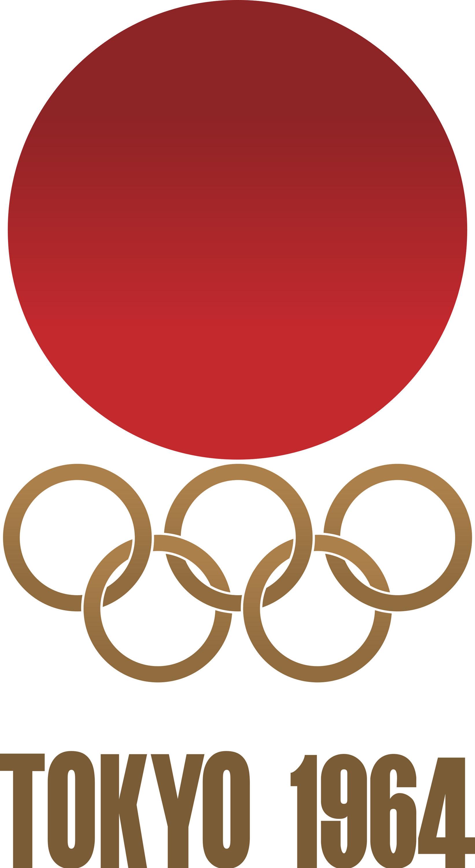 1964 Tokyo Olympics Logo - Custom Logo Design | LogoGarden