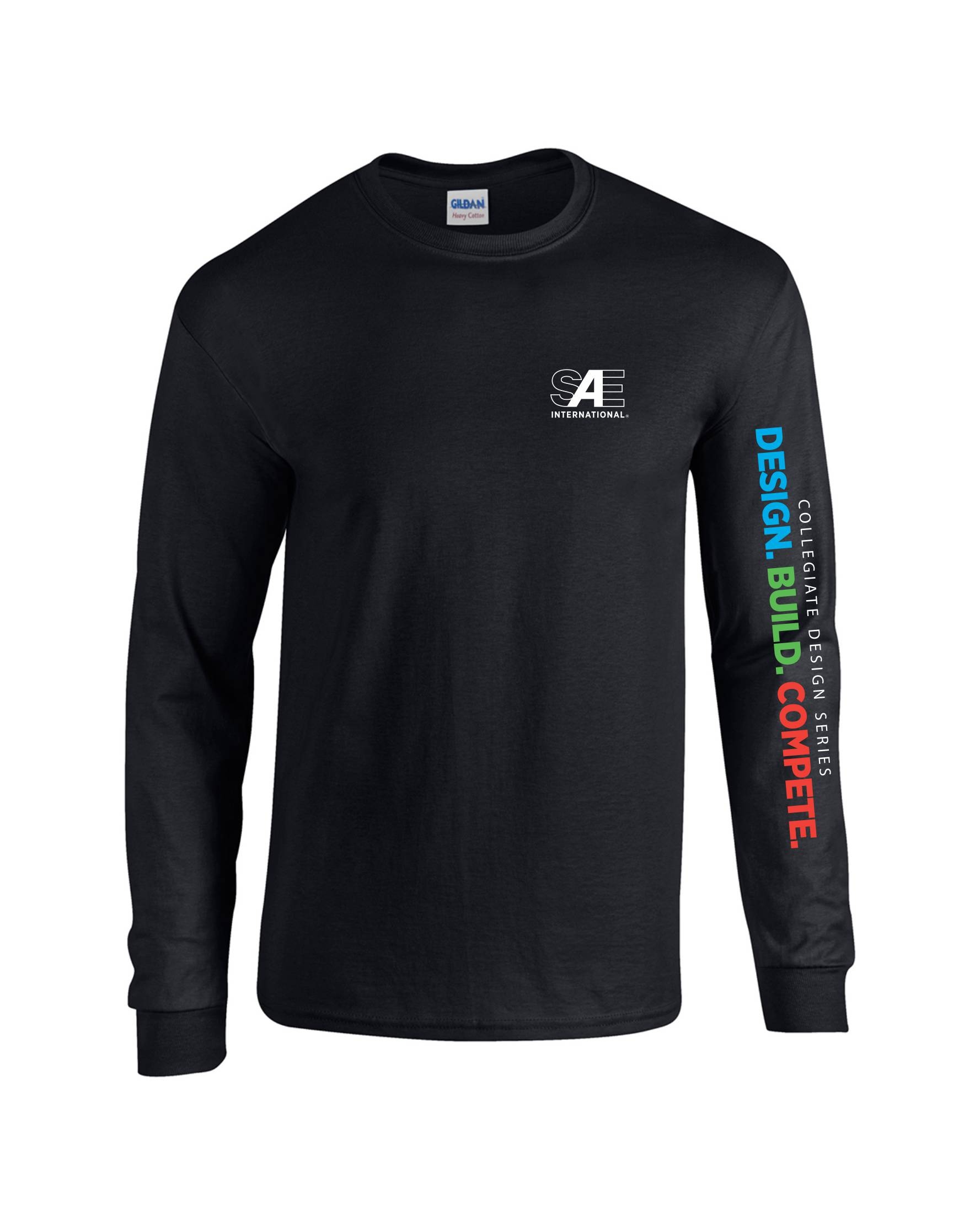Gildan Mid Weight 100% Cotton Long Sleeve T-Shirt