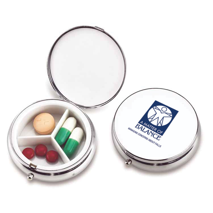 FORMAL AFFAIR METAL PILL CASE
