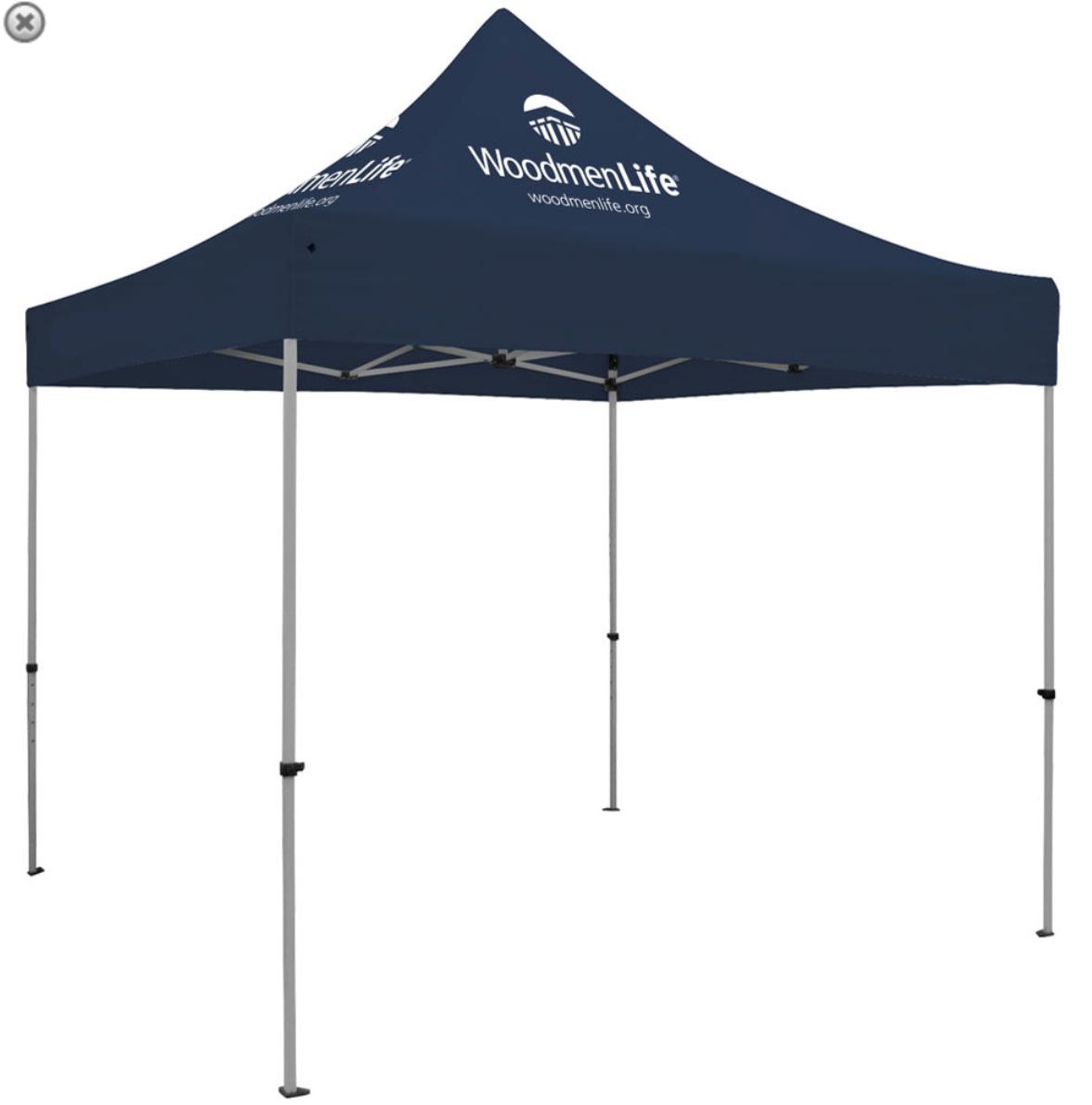Premium Aluminum 10' Tent Kit