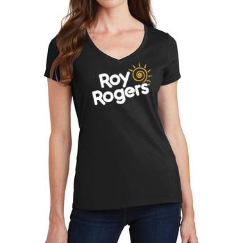 Roy Rogers' Brand Women's V-Neck T-Shirt