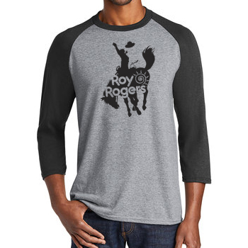 Bucking Bronco Baseball T-Shirt
